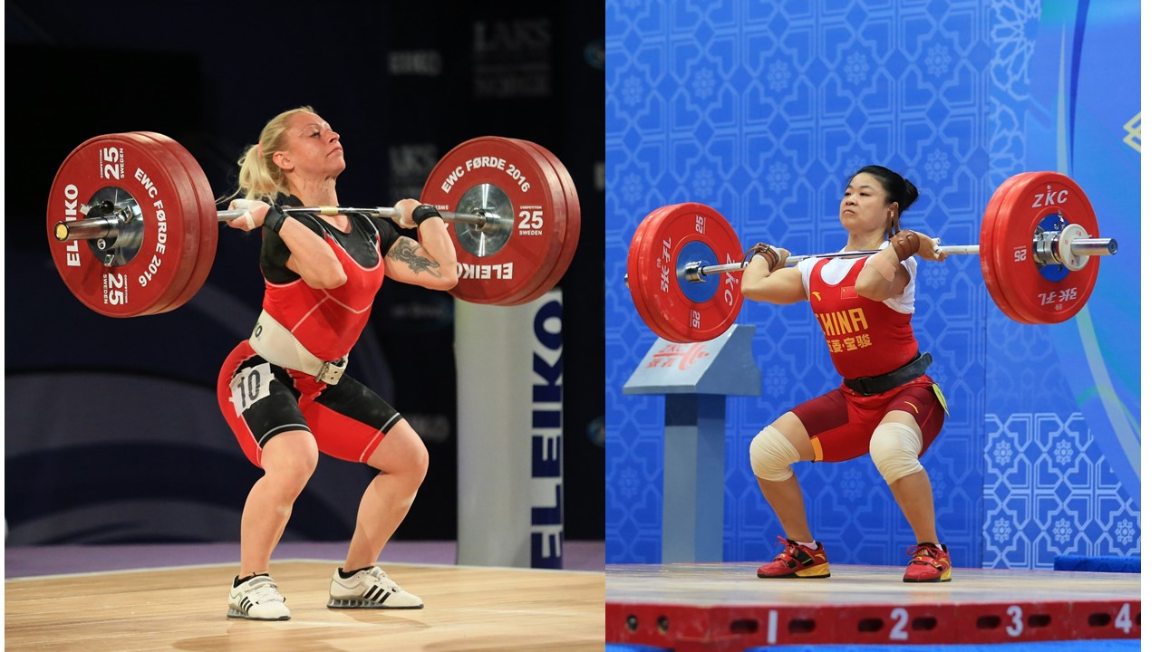 Dueling Power Cleans